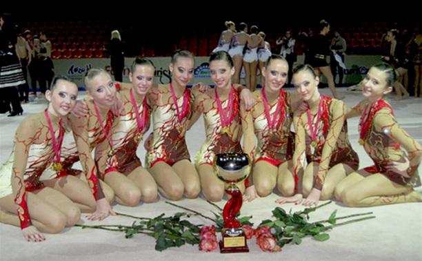 Тульский клуб «Роксэт» по эстетической гимнастике успешно выступил в Европе