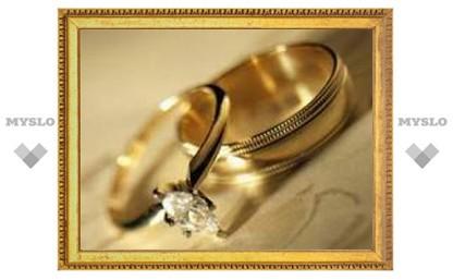 В Туле рекордное количество свадеб