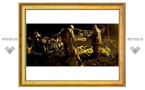 В Туле спасли женщину из горящей мусорной кучи