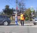 На пересечении улиц Пролетарской и К. Маркса столкнулись Skoda и Opel