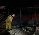 В Дубенском районе сгорел частный дом