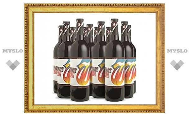 Музыку The Rolling Stones превратили в красное вино