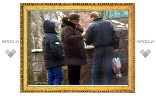 В тульском парке поймали самогонщицу