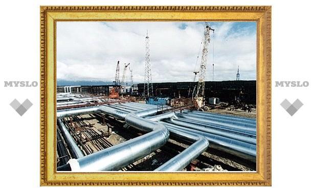 Экспорт газа из России в дальнее зарубежье сократился на четверть