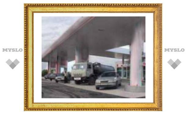 В Туле подешевел бензин