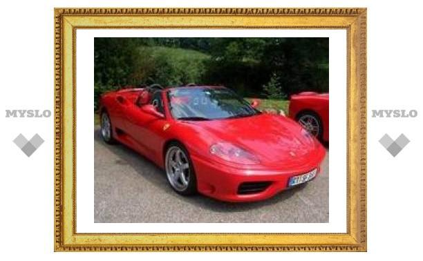 Итальянцы научились подделывать Ferrari F-360