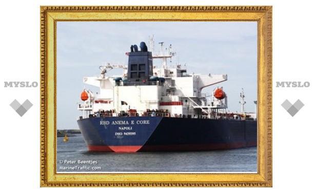 Пираты освободили итальянский танкер