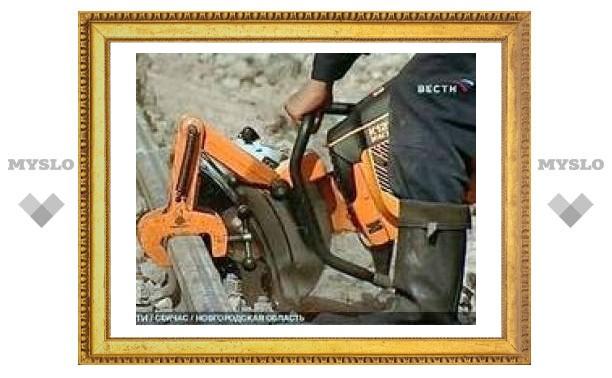 """Восстановлен железнодорожный путь на месте крушения """"Невского экспресса"""""""