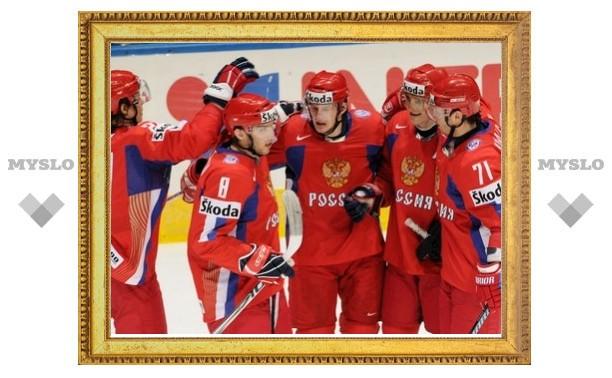 Сборная России по хоккею начала олимпийский турнир с крупной победы
