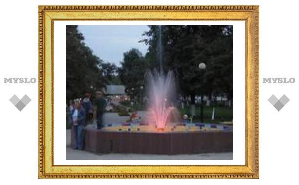 В Туле появился новый фонтан