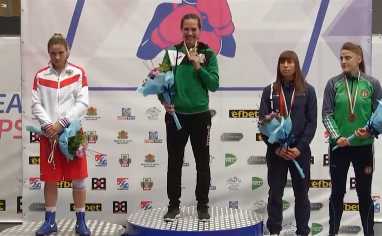 Тулячка Дарья Абрамова стала серебряной призеркой чемпионата Европы по боксу