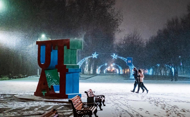 Погода в Туле 5 января: мокрый снег и до -2 градусов
