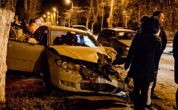На улице Кирова столкнулись четыре автомобиля