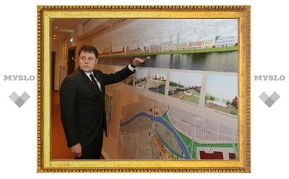 Владимир Груздев заинтересовался набережной Упы