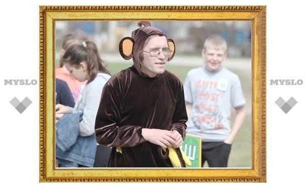 В Туле устроили обезьяньи бега
