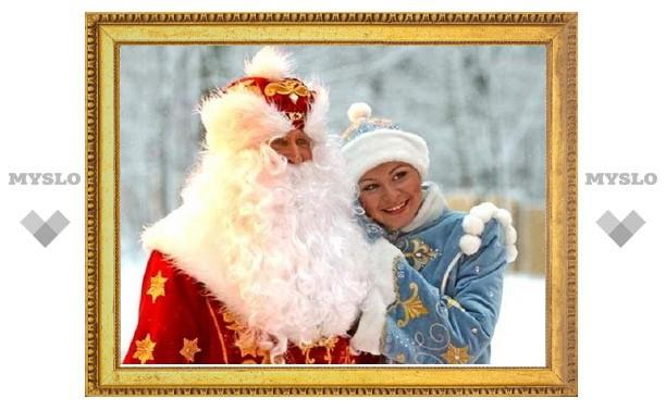 В Тульских парках отпразднуют день рождения Деда Мороза