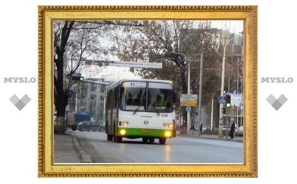 Тульские автобусы поменяли маршрут