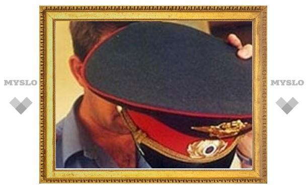 Тульская полиция прокомментировала инцидент с майором, который дебоширил в цветочном павильоне