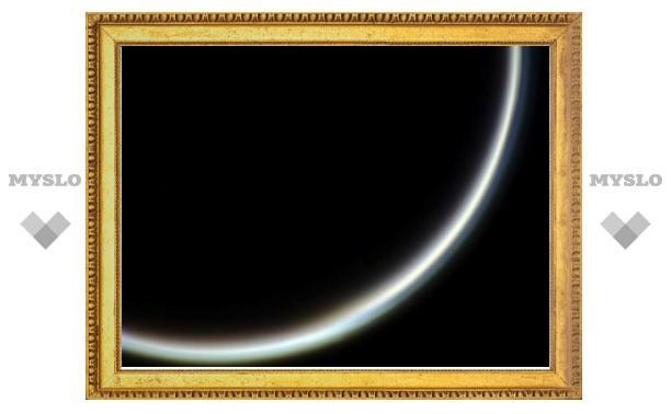 У атмосферы Титана нашли сугубо земной слой
