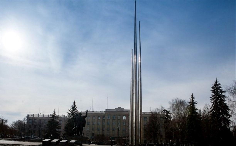 Стелу на площади Победы подсветят к 9 Мая