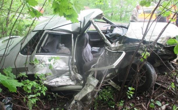 На автодороге «Тула – Берёзовка» столкнулись «Газель» и ВАЗ