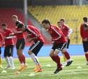 Как футболисты «Арсенала» готовятся к игре с «Тереком»