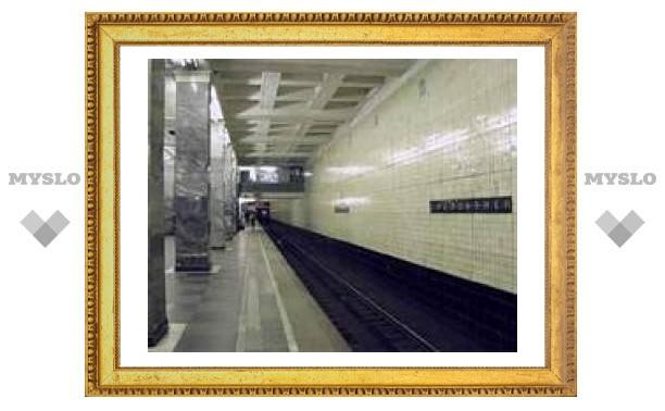 В московском метро пассажир на ходу залез под вагон
