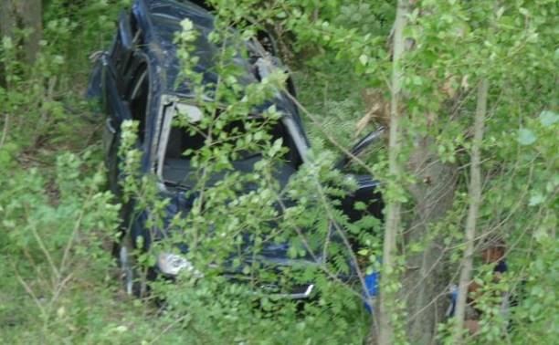 В Тульской области «Форд» вылетел в кювет