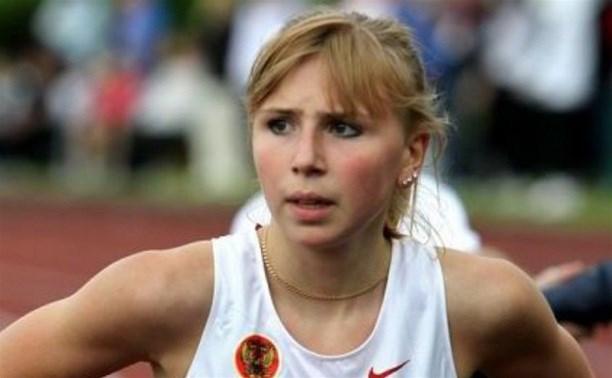 Тульскую спортсменку Екатерину Реньжину наградили медалью «За воинскую доблесть» II степени