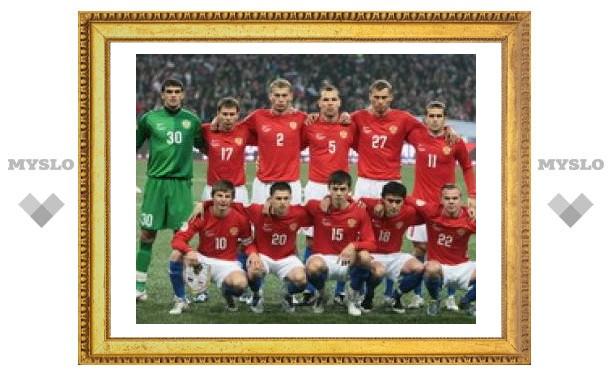 СМИ: За выход в четвертьфинал ЕВРО-2008 российская сборная получит ?7 млн