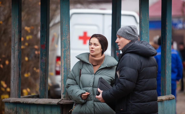 В Туле стартовали съемки детектива с Мариной Александровой в главной роли: фоторепортаж