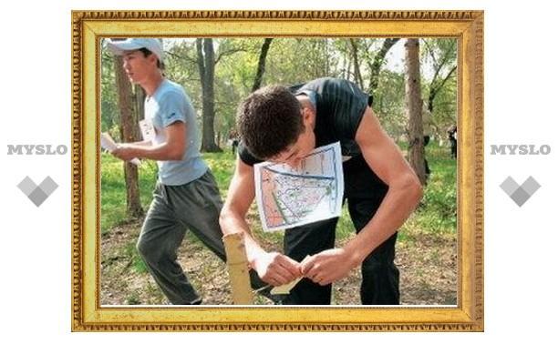 Тульские ориентировщики борются за победу в Ивановской области
