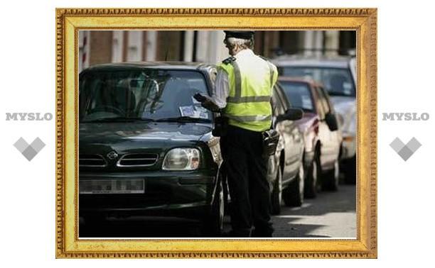 Водителей Тулы будут штрафовать на 2500 рублей