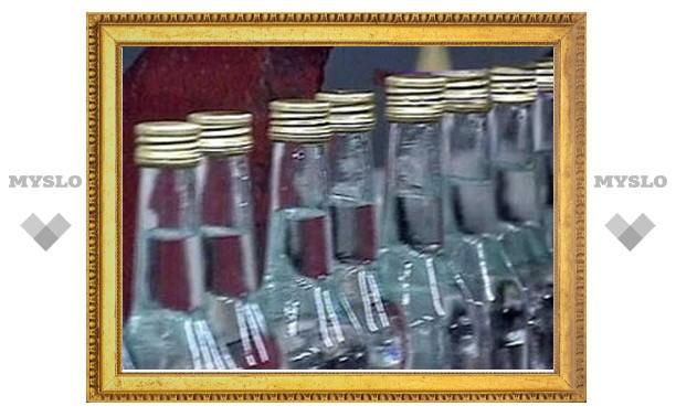 Полиция «накрыла» склад с нелегальным алкоголем