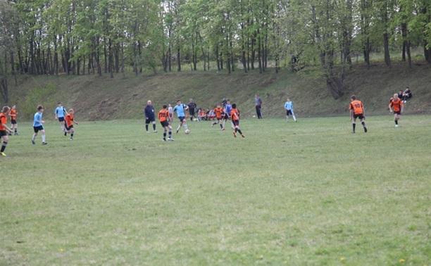 Полицейские-динамовцы провели футбольный турнир в Кимовском районе
