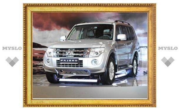 Обновленный Mitsubishi Pajero в России подешевел