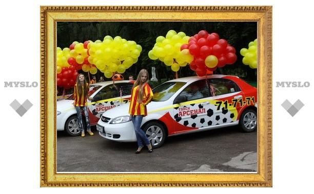 По Туле ездит такси для спортсменов