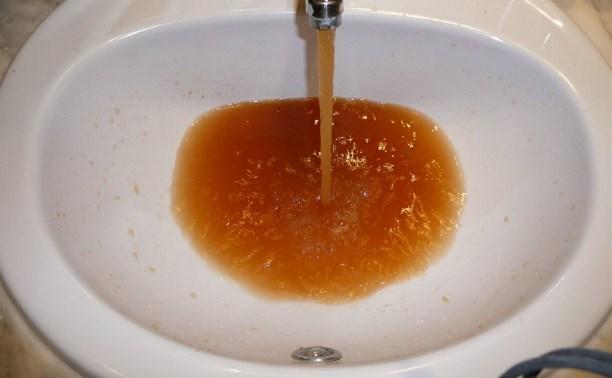 Жители Новомосковска пили некачественную воду