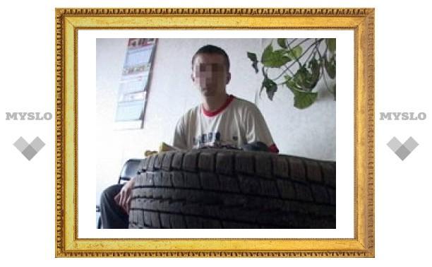 В Туле задержали «колесного» вора