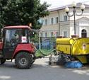 На уборку тульских тротуаров потратили свыше 1,5 миллиона рублей