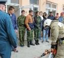 Тульские спасатели провели урок для юнармейцев