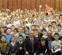 Десять юных туляков спели для Президента на сцене Мариинского театра