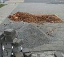 На месте уничтоженных в центре Тулы деревьев уложили плитку