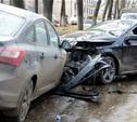 В Рязани туляк на «Мерседесе» протаранил несколько машин