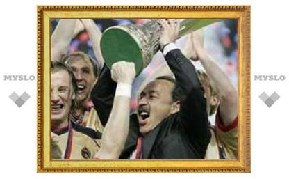 18 мая: ЦСКА выиграл Кубок УЕФА