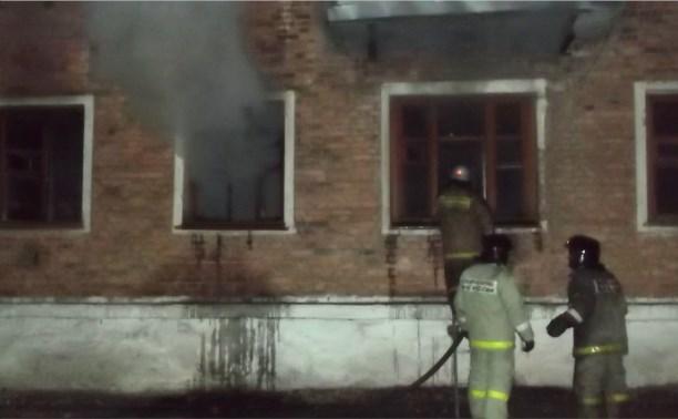В Кимовске из-за пожара из дома эвакуировали 13 человек