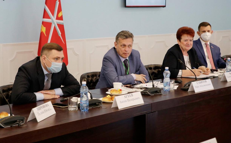 В Общественной палате Тульской области обсудили взаимодействие с НКО