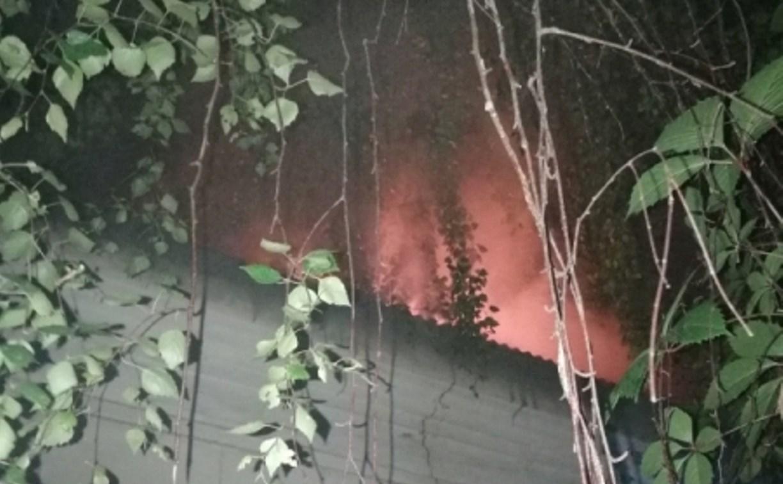 Пожар на улице Нормандии-Неман в Туле тушили 12 человек