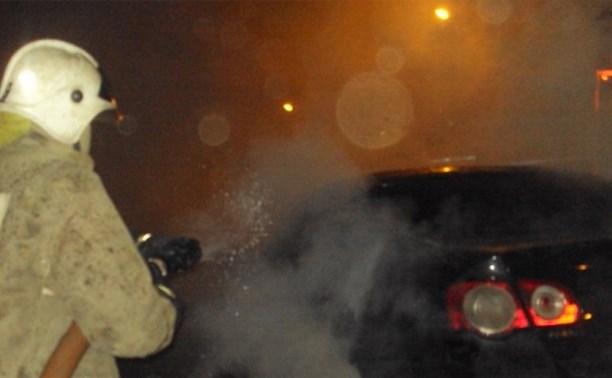 Ночью в Киреевском районе сгорел «Фольксваген Пассат»