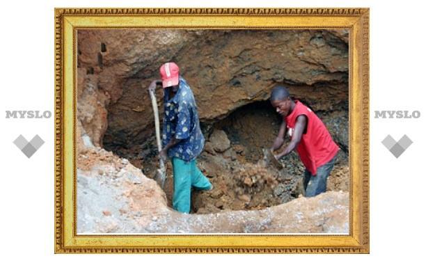 В Гане из-за обвала на золотой шахте погибли 14 женщин